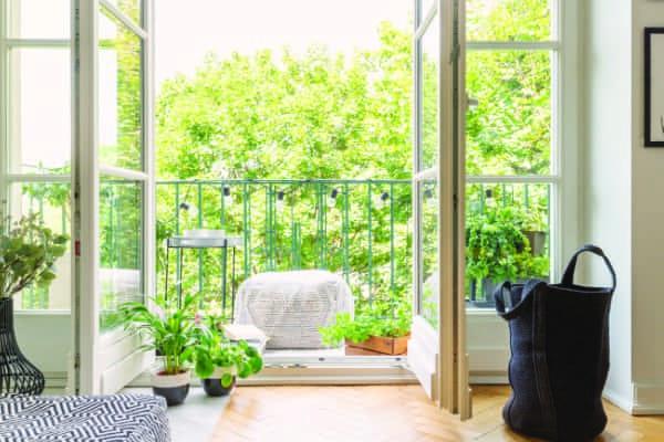 Balkontürmaterial die zur Auswahl stehen.