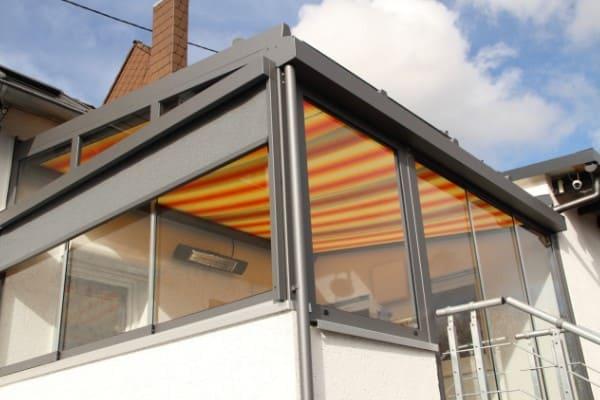 Balkon zum Wintergarten umgebaut