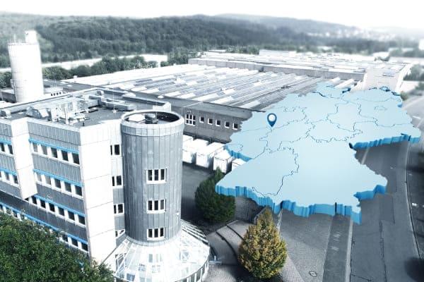 Standort Burbach wo die FeBa Fensterbau GmbH Ihren Sitz hat.