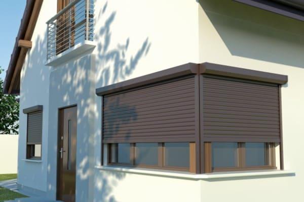 Reflexa Conturo Fenster Rollladen in eckiger Ausführung