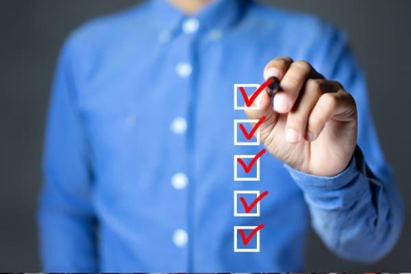 Checkliste für die Vorraussetzungen für Förderungen