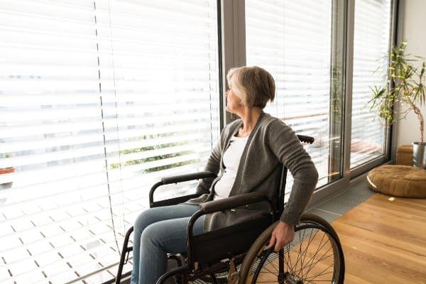 Mobilität durch Terrassenfenster weitererhalten.