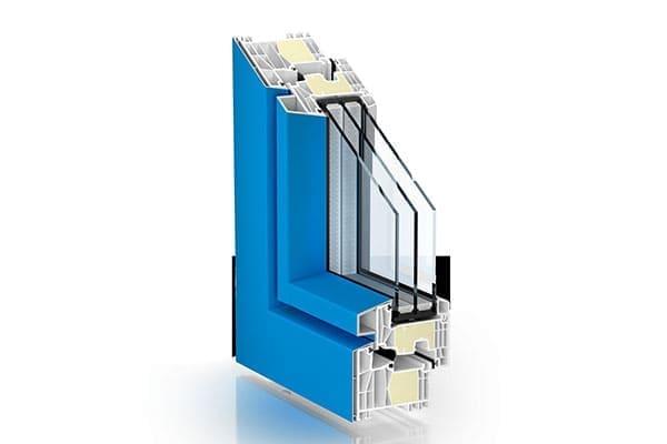 Energiesparfenster als Alu-Kunststofffenster