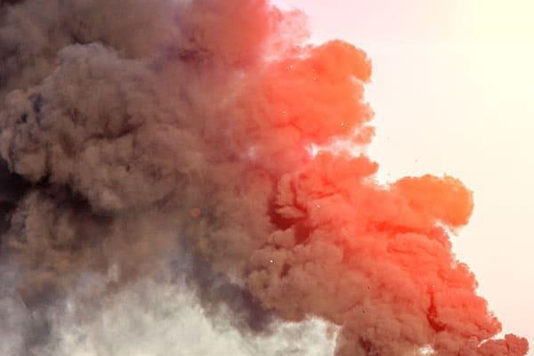 grosse Rauchwolke