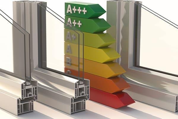 Fensterprofile die sehr viel Energie sparen.