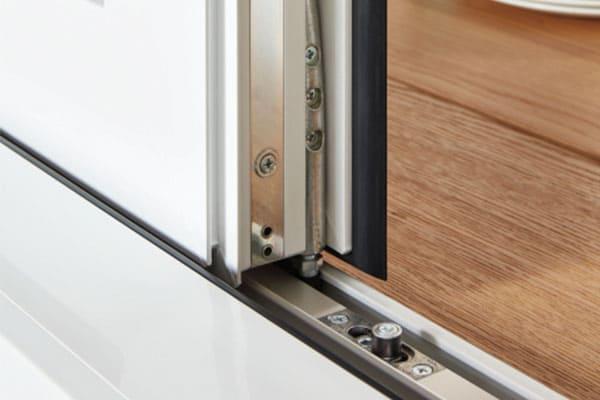 Beschlag eines Einbruchschutz Fensters