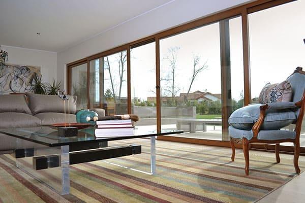Energieeffiziente große Fenster