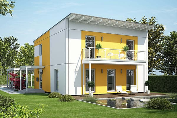 Weiße Fenster passend zu jeder Fassade