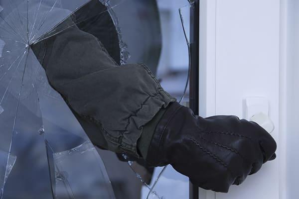 Einbruchschutz Fenster mit Dreifachverglasung