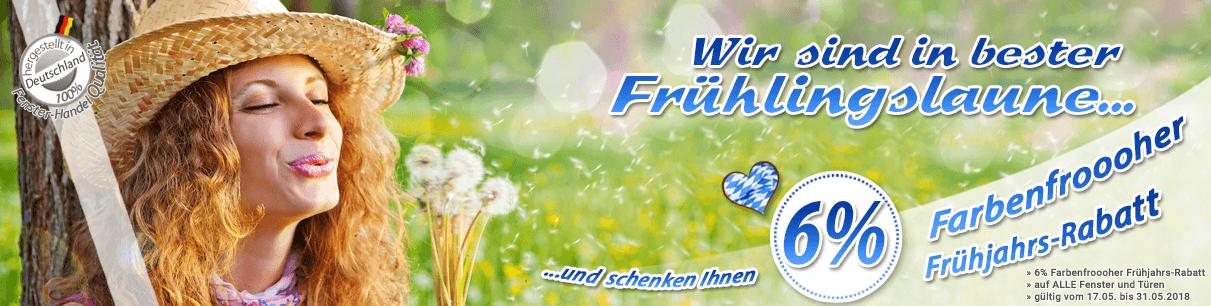 Rabatt f&uumlr Kunststofffenster