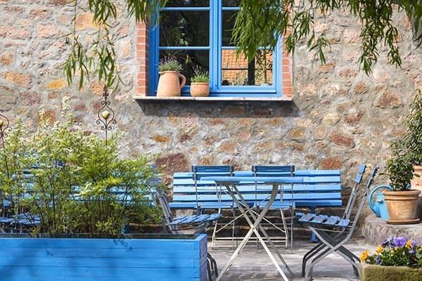 Sprossen für das Gartenhaus Fenster