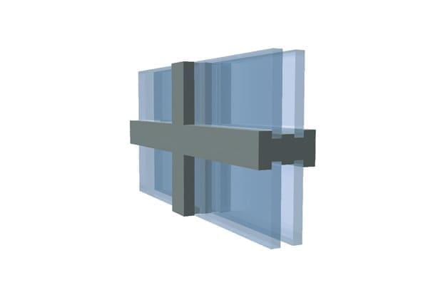 Kämpfersprossen für besonders stabile Sprossenfenster