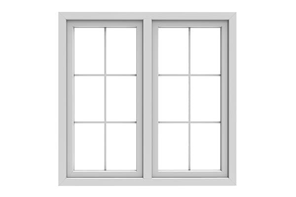 Fenster mit Helima Sprossen