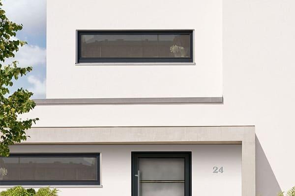 Horizontale Drehfenster