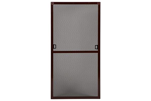 Insektenschutz für Fenster in Braun