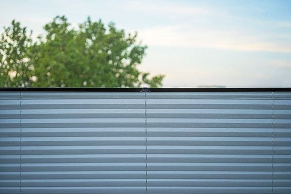 Plissee für feststehende Fenster