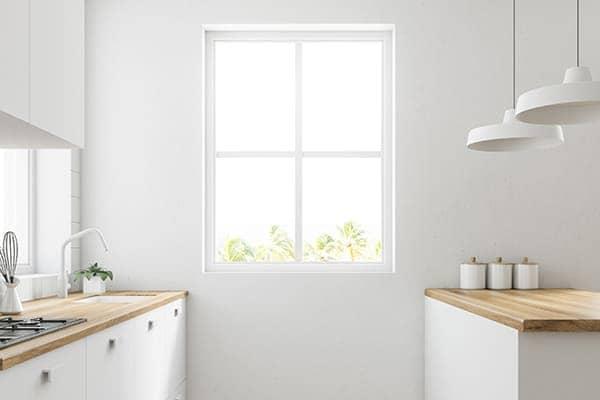 Fenster in Küche