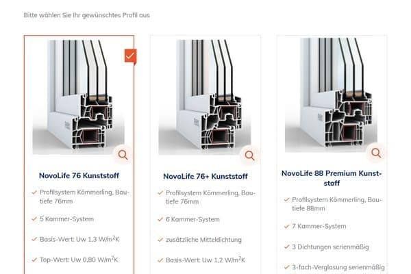 Fenstersysteme FensterHandel.de