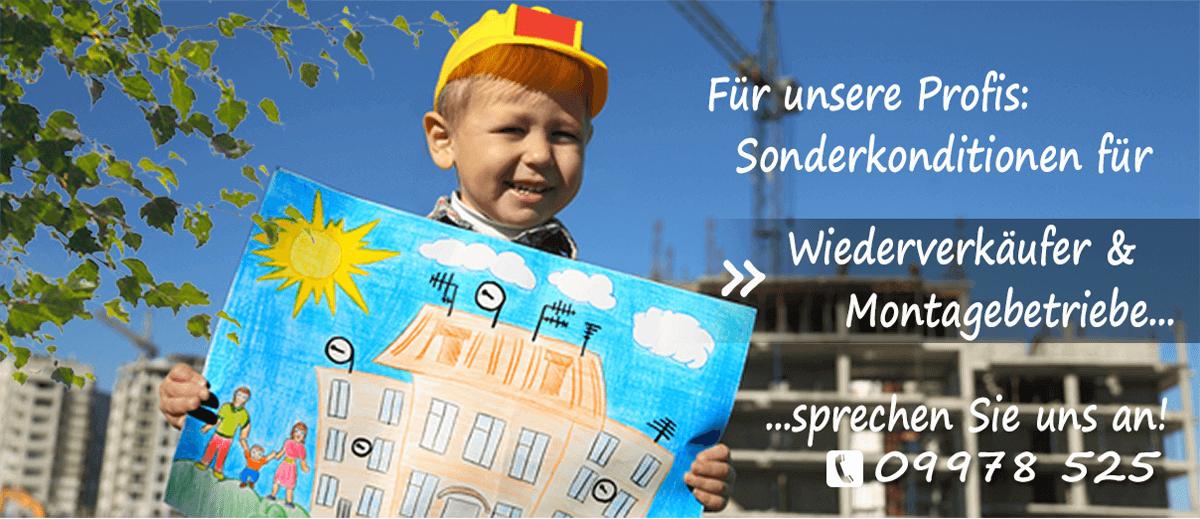 Kunststofffenster Rabatt für Wiederverk&auuml;ufer