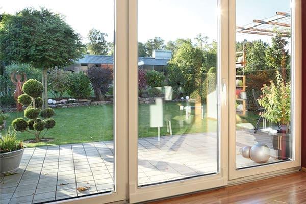 Terrassenfenster mit Isolierglas