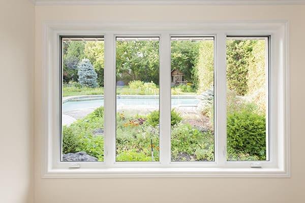 Festverglasung - Vierteiliges Fenster