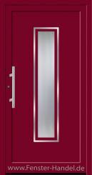 Schüco Haustüre ADS75, Modell AL 333 in Farbe
