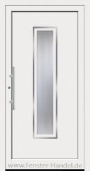 Schüco Haustüre ADS75, Modell AL 333 weiß