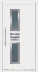 Schüco Haustüre ADS75, Modell AL 60 weiß