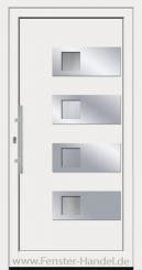 Jubiläums-Haustüre KU 110 weiß