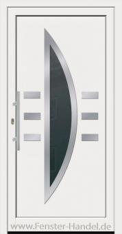 Jubiläums-Haustüre KU 120 weiß