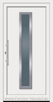 Jubiläums-Haustüre KU 50 weiß