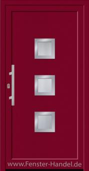 Jubiläums-Haustüre KU 80 in Farbe