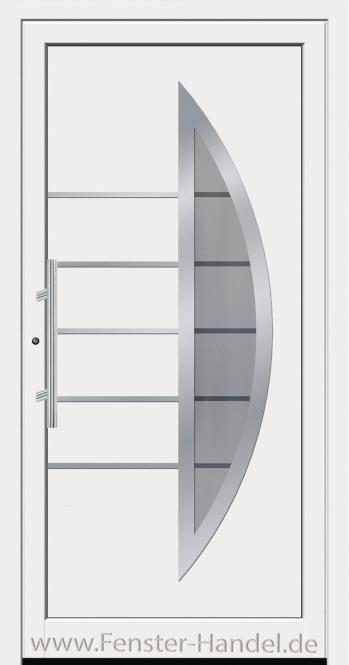 Schüco Haustüre ADS75, Modell AL 312 weiß