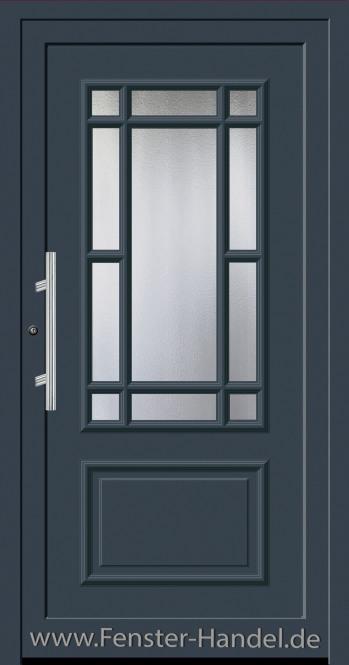 Schüco Haustüre ADS75, Modell AL 321 in Farbe