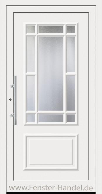 Schüco Haustüre ADS75, Modell AL 321 weiß