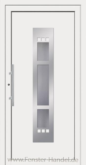 Schüco Haustüre ADS75, Modell AL 70 weiß