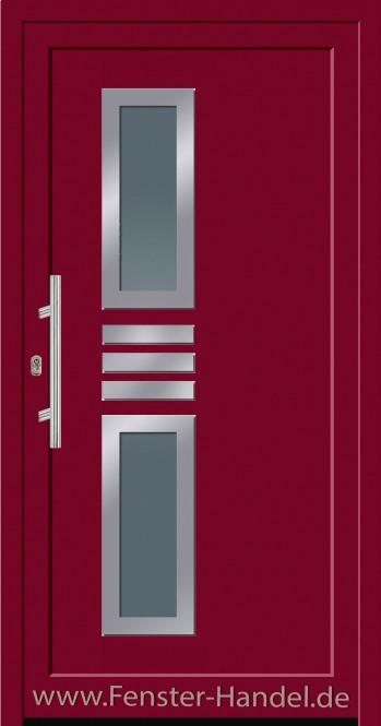 Jubiläums-Haustüre KU 60 in Farbe