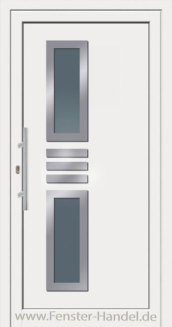 Jubiläums-Haustüre KU 60 weiß