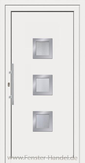 Jubiläums-Haustüre KU 80 weiß