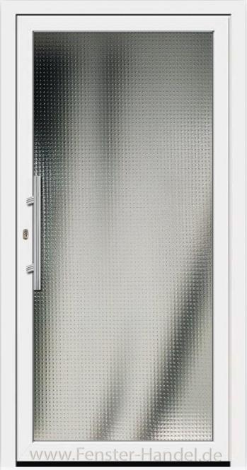 Aktions-Modell Vollverglast weiß